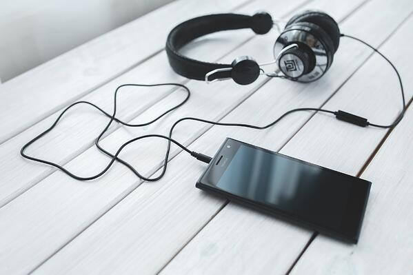 Podcasting audio