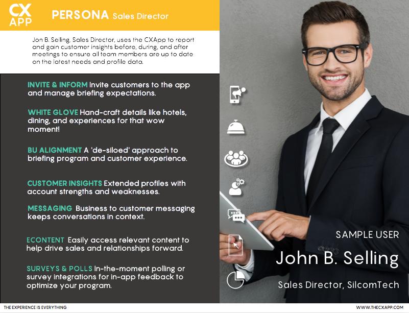 Sales Director Mobile App
