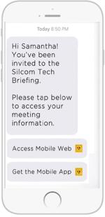 SMS Invites
