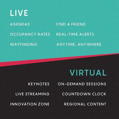 live, virtual, and hybrid event touchpoints