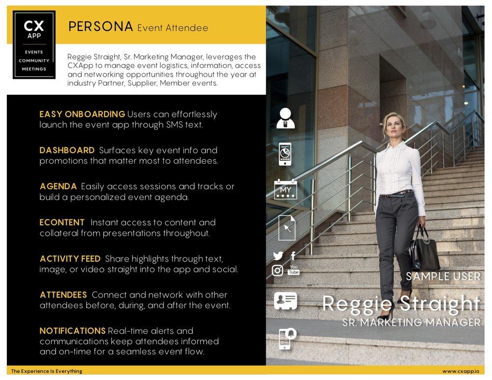 Persona Spotlight: Event Attendee