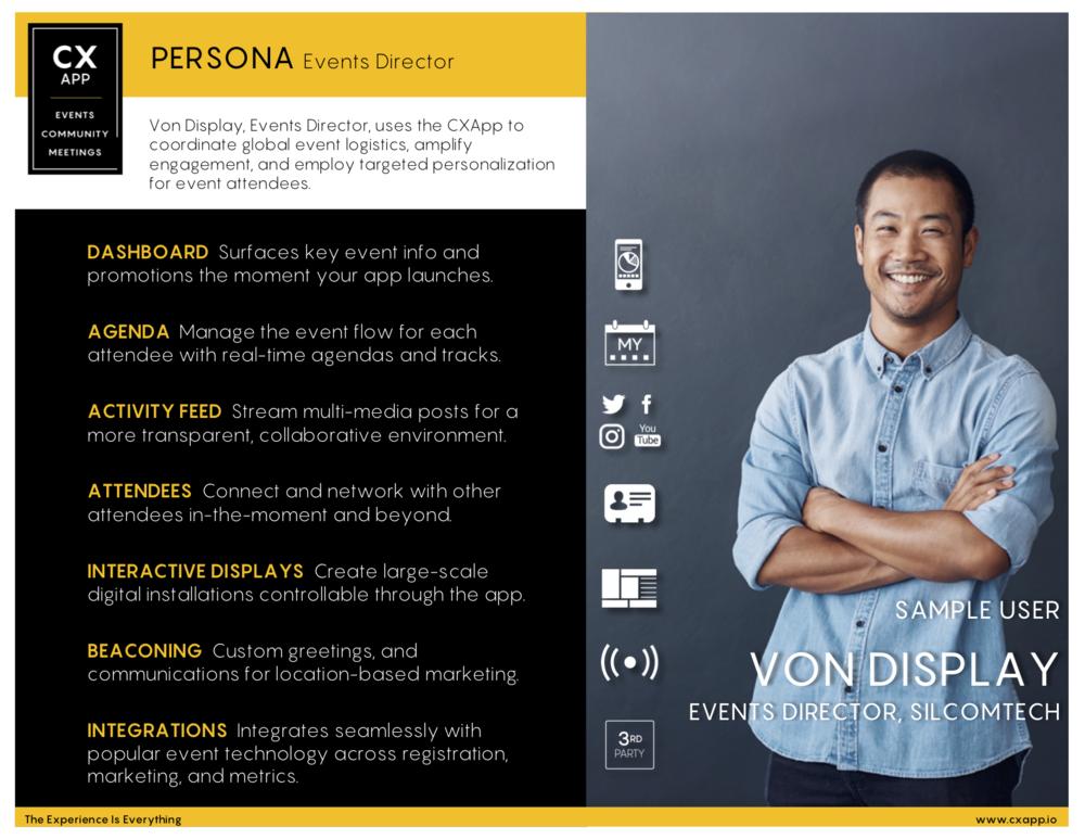 Persona Spotlight: Event Director