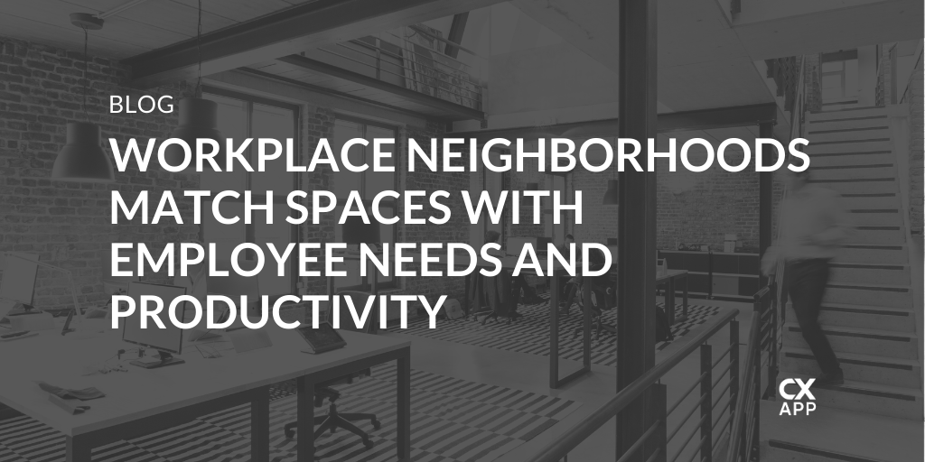 Welcome to the Neighborhood! Desks, People, & Communal Spaces
