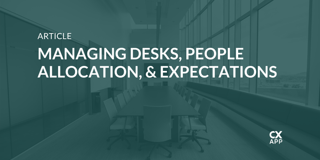 Desk Management In the Workplace: Roles and Responsibilities