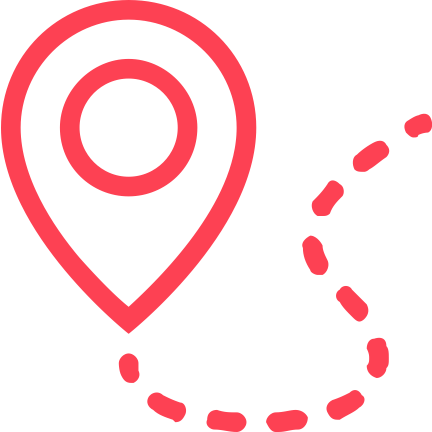 location services pink